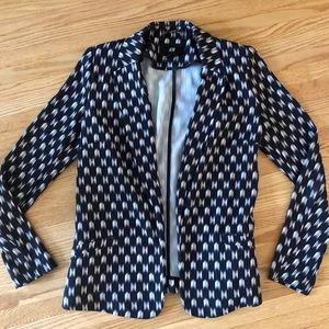 H&M Patterned Blazer